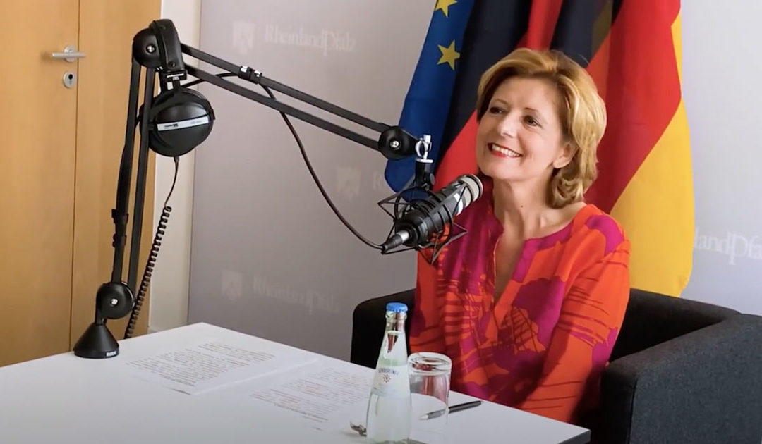 Drahtbericht: the New Podcast for the German Staatskanzlei Rheinland-Pfalz